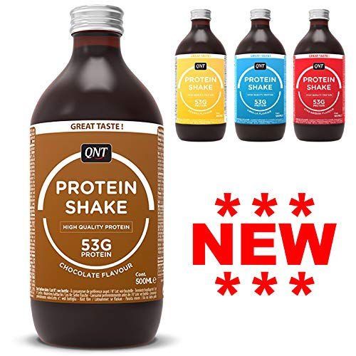 QNT Fit Protein Shake 12 x 500ml Ready to Drink Protein Shake Fat Free RTD RTDs Same as Multipower
