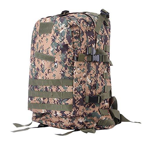 Vbiger 40L sac à dos tactique multifonctionnel sac à bandoulière en plein air grande capacité montagne escalade sac à dos durable randonnée sacs à dos