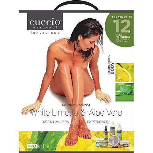 Luxury Spa Kit - Refreshing & Soothing - White Lim