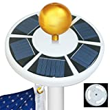 Moonlight Solar Flag Pole Light 42 LED
