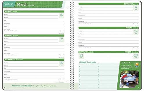 Student Planner 2016 - 2017 School Year Planner Elementary School Content 8.5'' x 11'' by School Datebooks (Image #2)