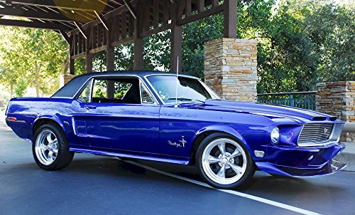 1968 Ford Mustang GT Hardtop Photo Poster 8x10