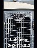"Land Rover Calendar 2020-2021: Weekly Planner Calendar Logbook Diary Gift Todo Memory Book Budget Planner | Cars, Men, Woman, Girls & Boys, Autos | 8.5"" x (Cars calendar 2020-2021)"