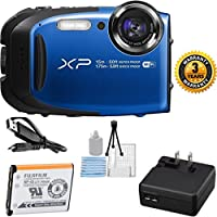 Fujifilm FinePix XP80 Yellow Waterproof Digital Camera Bundle with 2.7-Inch LCD Screen (White Box Packaging, Brand New) Overview Review Image
