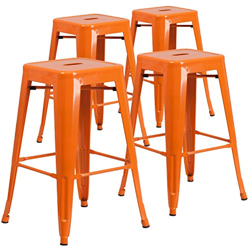 4-pk-30-high-backless-orange-metal-indoor-outdoor-barstool-with-square-seat