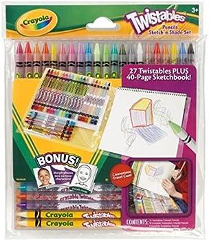 Crayola Sketch 'N Shade Twistable Pencils