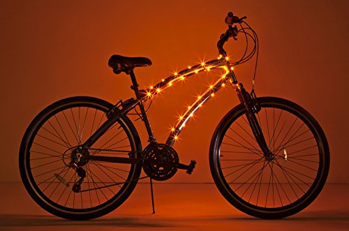 Orange Bike Shop (Brightz, Ltd. Orange Cosmic Brightz LED Bicycle Frame)