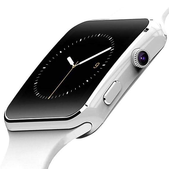 SZPZC Smart Watch Men con Cámara Soporte De Pantalla Táctil ...