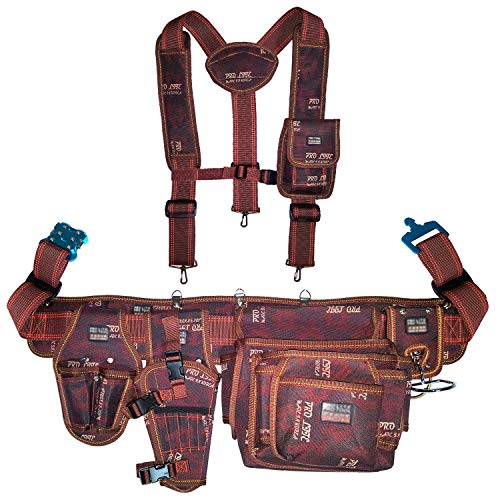 e7e007658 ... Rig Tool Pouch Bag Back Support Belt Hammer Holder Drill Holster  Multipurpose Nail Pocket Suspender Chest Strap Phone Pocket - Buy Online in  Oman.