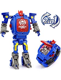 Transforming Toys Watch, 2 In 1 Robot Watch, Digital...