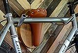 "Bicycle Taxidermy Bike Wall Display Rack -- ""The Longhorn"""