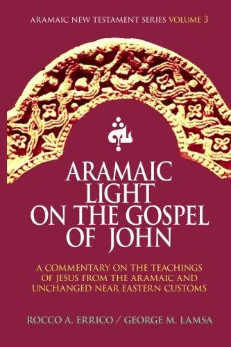 Aramaic Light on the Gospel of John (Aramaic New Testament Series) (Volume 3) by Brand: Noohra Foundation