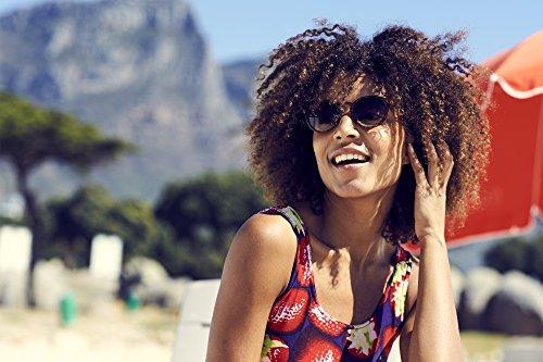 Cheapass Sunglasses Lunettes Rondes Noir Brun Leo Rétro Femmes Hommes Marron4