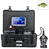 Underwater Fishing Camera - 360 Degrees, 1/3 Inch Sony CCD, 600TVL, Remote Control, 7 Inch Color Monitor