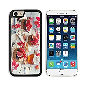 Food Sweets Cakes Pastries Fruits Berries Figs Currants Blueberries Honey Dessert Apple iPhone 6 TPU Snap Cover Premium Aluminium Design Back Plate Case Customized Made to Order Support Ready Liil iPhone_6 Professional Case Touch Accessories Graphic Cover