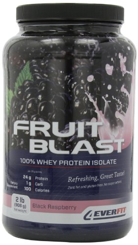 4Ever Fit Fruit Blast Isolate, Black Raspberry, 2 Pounds