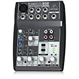 Premium 5-Input 2-Bus Mixer with XENYX Mic Preamp and British EQ