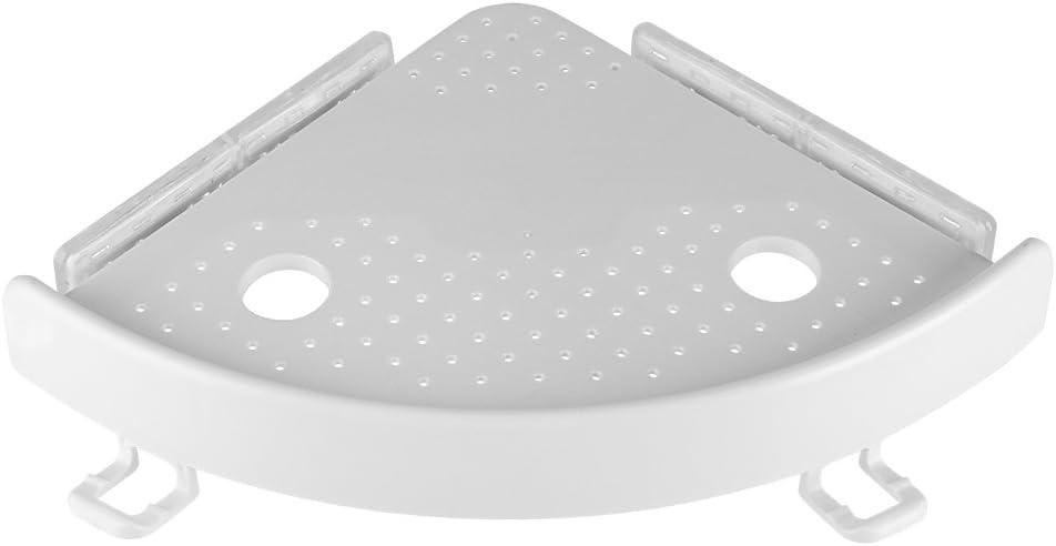 Multi Fonction salle de bain cuisine ABS /Étag/ère dangle Crochets Support avec ventouse PVC
