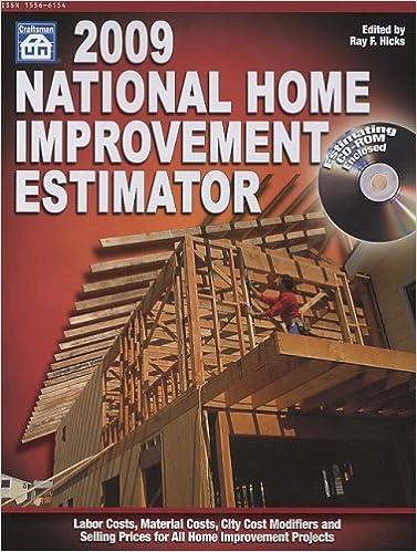 2009 National Home Improvement Estimator