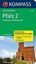 Pfalz 2, Südlicher Pfälzerwald: Wanderführer mit Tourenkarten und Höhenprofilen