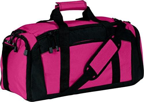 d3d585e59f2b Port & Company luggage-and-bags Improved Gym Bag OSFA Tropical Pink