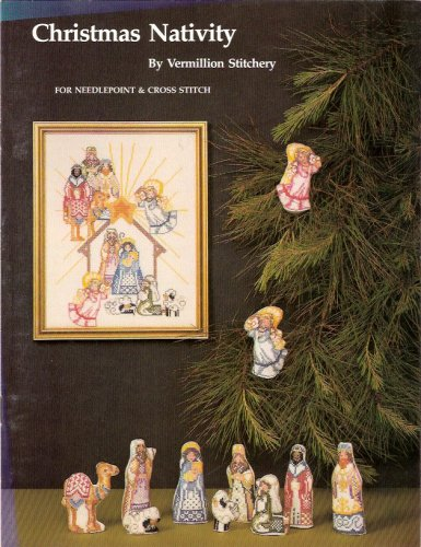 Christmas Nativity for Needlepoint and Cross - Needlepoint Nativity