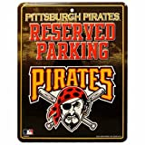 Rico MLB Pittsburgh Pirates Metal Parking Sign