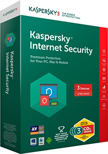 Kaspersky Lab Internet Security 2016 (3-Users) (Include 2014 Award)