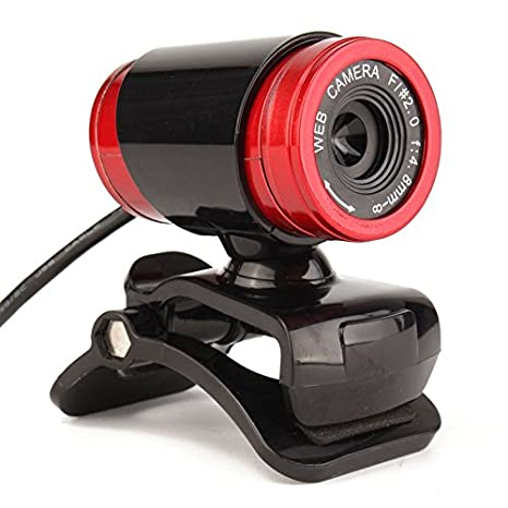 brolux (TM) 12 m píxeles de alta definición Cámaras web 360 grados Webcamera USB óptico lente CMOS cámara micrófono micrófono para ordenador portátil ...