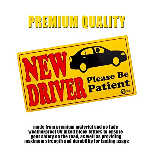 VaygWay 2 세트는 환자가 되십시오 학생 운전자 범퍼 자석 안전 표..