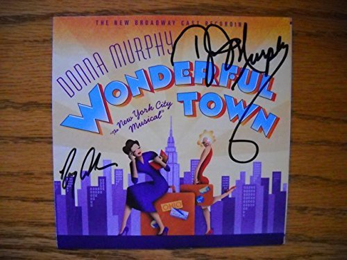 Signed CD from Wonderful Town the 2003 Broadway Revival Cast. Autographed by Donna Murphy , Gregg Edelman , Michael McGrath , Kathleen Marshall , Raymond Jaramillo McLeod , Stanley Wayne Mathis , Nancy Anderson , Rick Faugno , Joyce Chittick , Megan Sikora and additional signatures (Additional Cast)