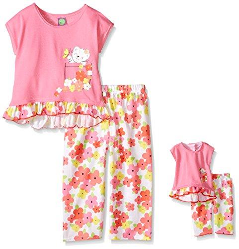 Dollie Me Girls Floral Sleepwear