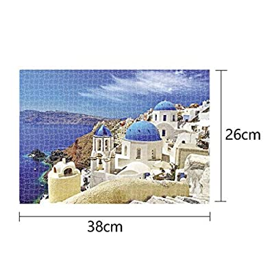 1000 Piece Puzzles Italy,Jigsaw Puzzles for Adults,Children Puzzle Puzzle Toy Landscape Pattern: Toys & Games