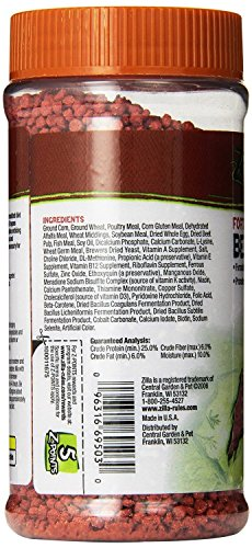 Zilla Reptile Food Bearded Dragon Fortified, 6.5-Ounce (3 Pack) by Zilla (Image #2)