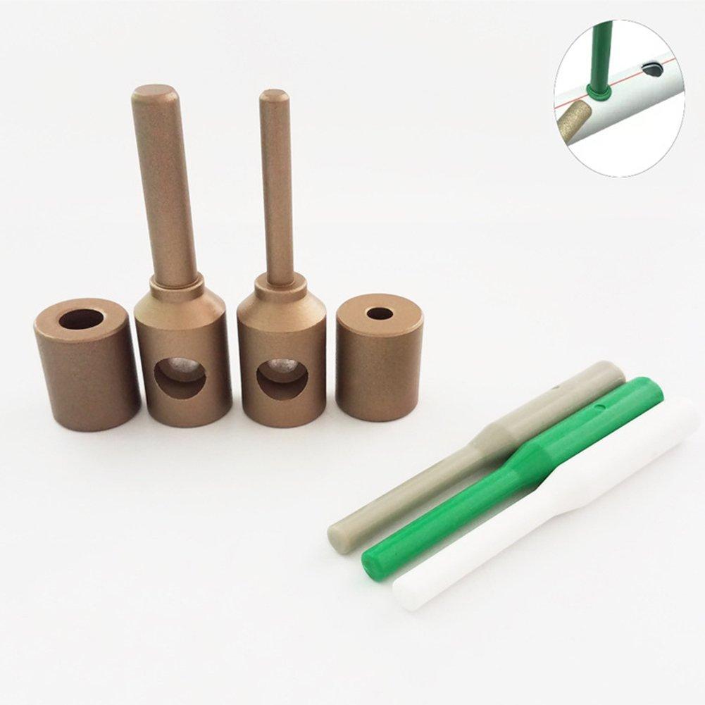 ZLUCK Water Pipe Repair Tools, Leak - Mending, Hole - Mending, Fuser, Welding Die, Glue Stick Repair Tools, PE/PPR / Pb/PVC Small-Scale Welding Pipe Repair Work (7 Mm - 11 Mm),A by ZLUCK (Image #1)