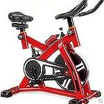 LSYOA-Magnetico-Spin-Bike-Fermo-Cinghia-Indoor-Cycling-con-Regolabile-Magnetico-Resistenza-wLCD-MonitorBlack