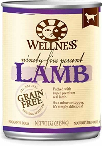 Wellness 95% Meat Canned Dog Lamb 13.2 oz