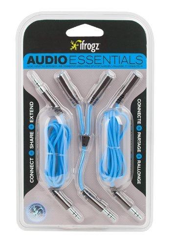iFrogz IFZ-AU-KIT-BLU Audio Essentials Kit by iFrogz