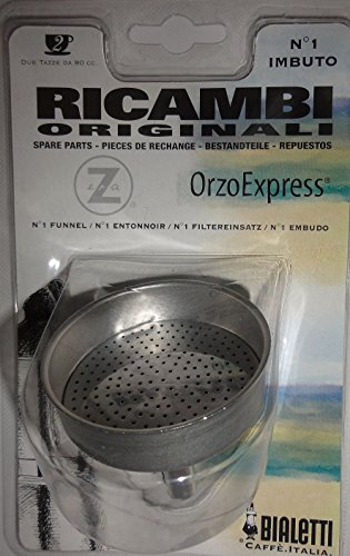 Bialetti Sugar - Bialetti - Spare funnel - Replacement Part for Orzo Express Coffee Makers -Stainless Steel - 6cm Diameter