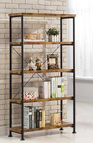 Coaster Home Furnishings Coaster 801542 Bookcase, Barritt Co