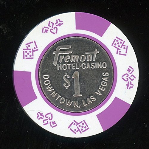 $1 Fremont Hotel and Casino 10th issue CIC Old Obsolete Las Vegas Nevada Casino Chip Almost Uncirculated Collectors Chip Real Live chip ()
