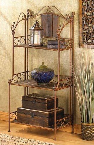 Home Kitchen Wooden Storage Racks Free Standing Kitchen Living Room Multi Purpose Industrial Garden Corner Rack