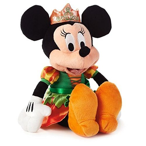 Hallmark Disney Pumpkin Princess Minnie Mouse Stuffed Plush HGN1140
