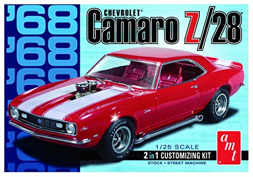 AMT AMT868/12 1/25 68 Camaro Z/28 (Model Cars Kits To Build Camaro)