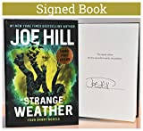 Strange Weather AUTOGRAPHED BOOK Joe Hill SIGNED COA 7045