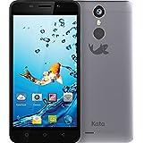 Kata i5 - 5-inch Super HD IPS Octa Core International Unlocked Smartphone Android 6.0 - Super Slim Super HD 1.3 GHz Dual Sim Card 4G 13MP Camera (Gray)