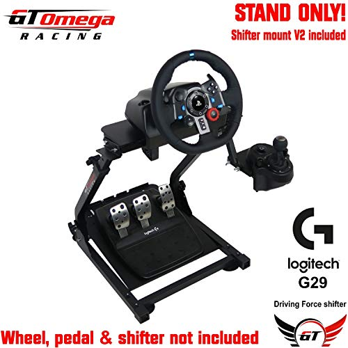 GT Omega Steering Wheel Stand PRO for Logitech G29 G920 with Shifter
