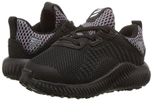 adidas Kids' Alphabounce Running Shoe, Black/White/Utility Black, 10 Medium US Toddler by adidas (Image #6)