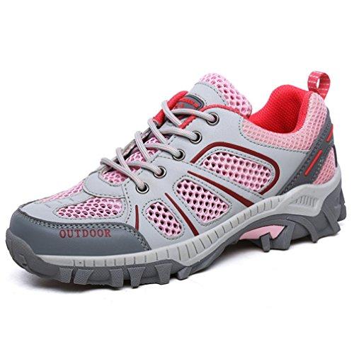 XIGUAFR adulto Unisex caño botas de Rose bajo PwqrIPXnv
