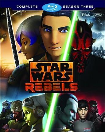 star wars rebels complete season three blu ray bilingual amazon ca